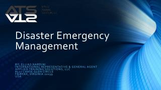 Disaster  Emergency  Management