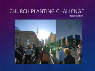 Church Planting Challenge