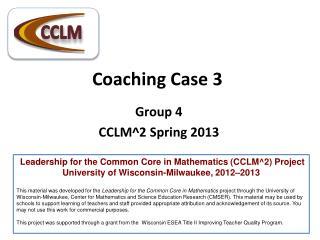 Coaching Case 3
