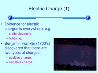 Electric Charge (1)