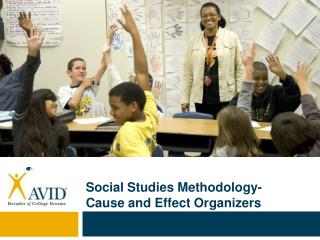 Social Studies Methodology- Cause and Effect Organizers