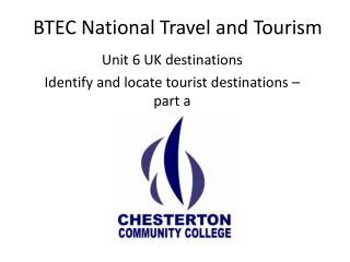 BTEC National Travel and Tourism