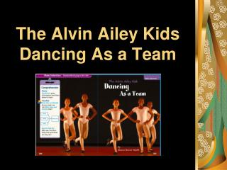 The Alvin Ailey Kids  Dancing As a Team