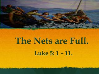 The Nets are Full.