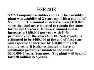EGR 403