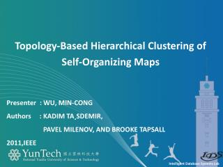 Topology-Based Hierarchical Clustering of Self-Organizing Maps