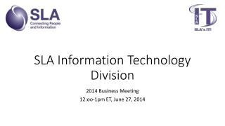 SLA Information Technology Division
