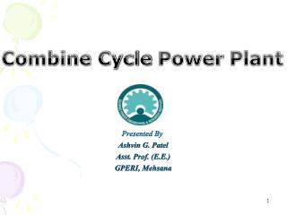 Combine Cycle  Power  Plant