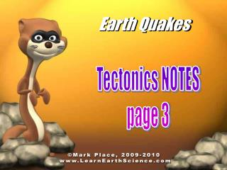 Earth Quakes