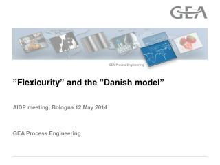 """ Flexicurity "" and the ""Danish model"""