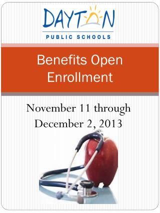 Benefits Open Enrollment