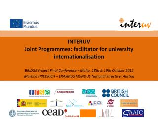 INTERUV Joint Programmes:  facilitator  for  university internationalisation