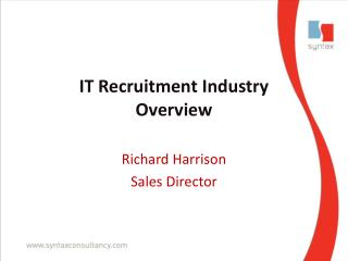 IT Recruitment Industry  Overview
