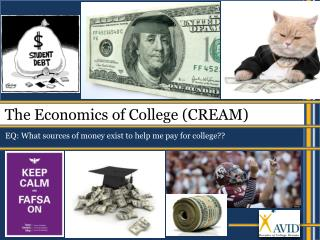 The Economics of College (CREAM)