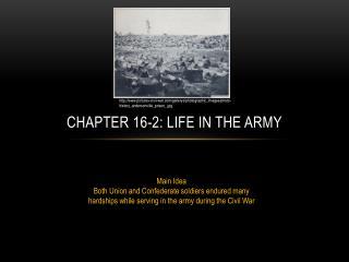 Chapter 16-2: Life in The Army