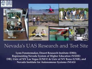Nevada's UAS Research and Test Site