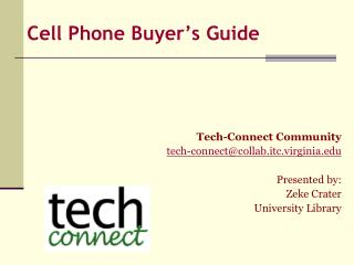 Cell Phone Buyer's Guide