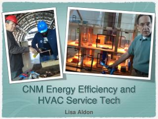 CNM Energy Efficiency and HVAC Service Tech