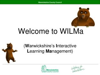 Welcome to  WILMa