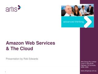 Amazon Web Services & The Cloud