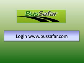 Login bussafar