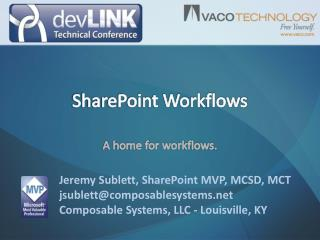 SharePoint Workflows