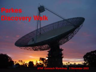 Parkes Discovery Walk