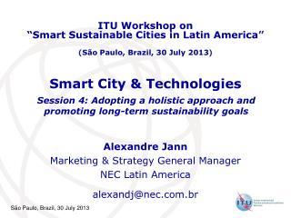 Smart City & Technologies
