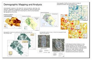 Demographic Mapping and Analysis