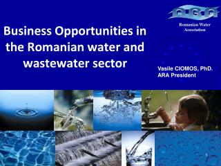 Business Opportunities in  the Romanian water  and wastewater  sector