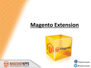 MageShopApps - Your Magento Certified Experts