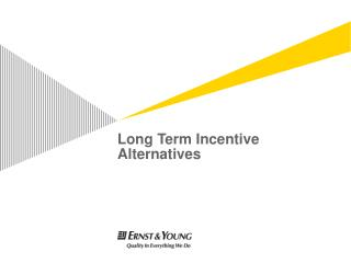 Long Term Incentive Alternatives