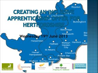 Creating an inclusive apprenticeship offer for Hertfordshire