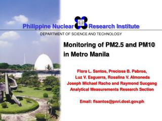Philippine Nuclear         Research Institute