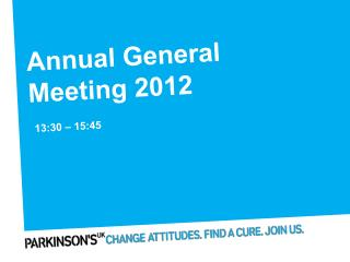 Annual General Meeting 2012