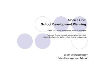 Susan O'Shaughnessy School Management Advisor