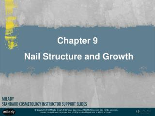 Chapter 9 Nail Structure and Growth