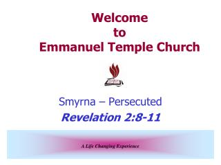 Welcome to Emmanuel Temple Church