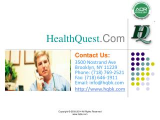 HealthQuest - World Class Health Care - New York