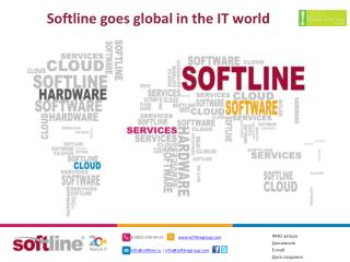 Softline goes global in the IT world