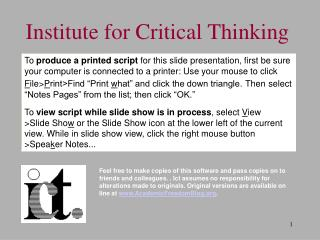 While in slide show view, click the right mouse button, then Spea k er Notes.
