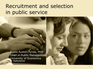 Recruitment and selection  in public service