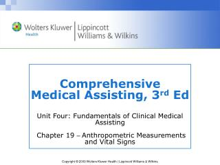 Vital Signs and Anthropometric Measurements