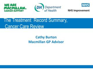 The Treatment  Record Summary,  Cancer Care Review