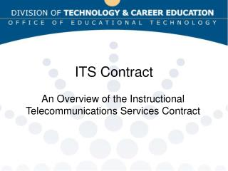 ITS Contract