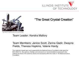 """The Great Crystal Creation"""