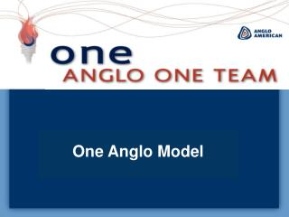 One Anglo Model