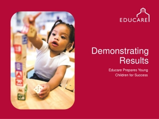 A Comprehensive Early Childhood System In WI