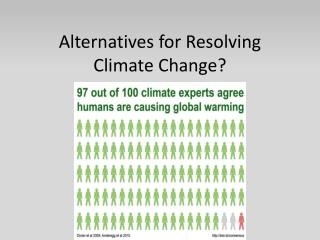 Alternatives for Resolving Climate Change?
