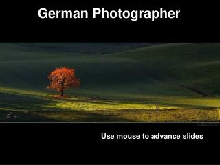 German Photographer